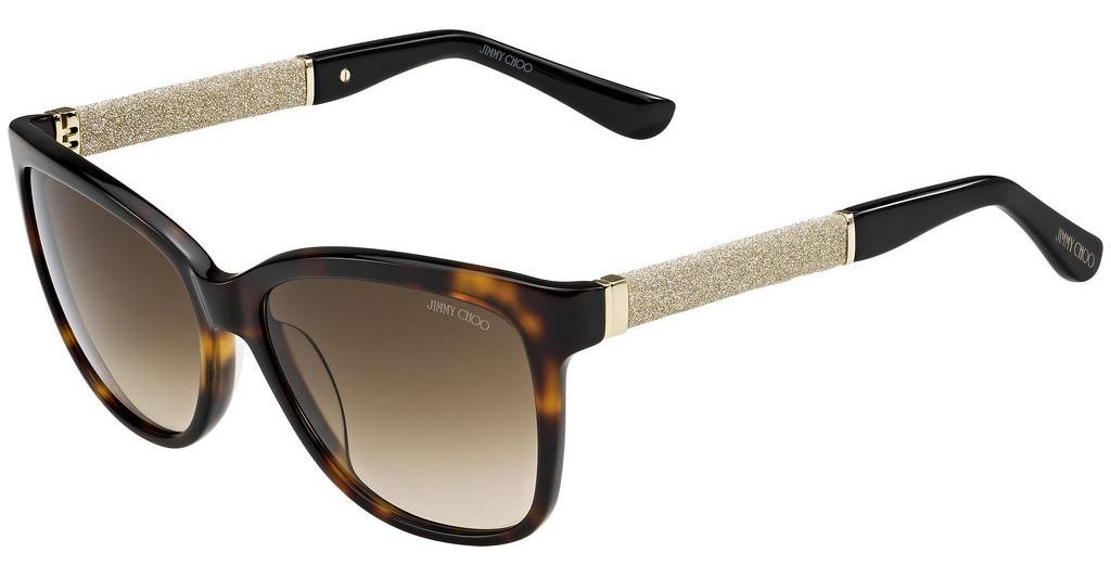 Jimmy Choo   CORA/S FA5/JD BROWN SFHV GLTTBK
