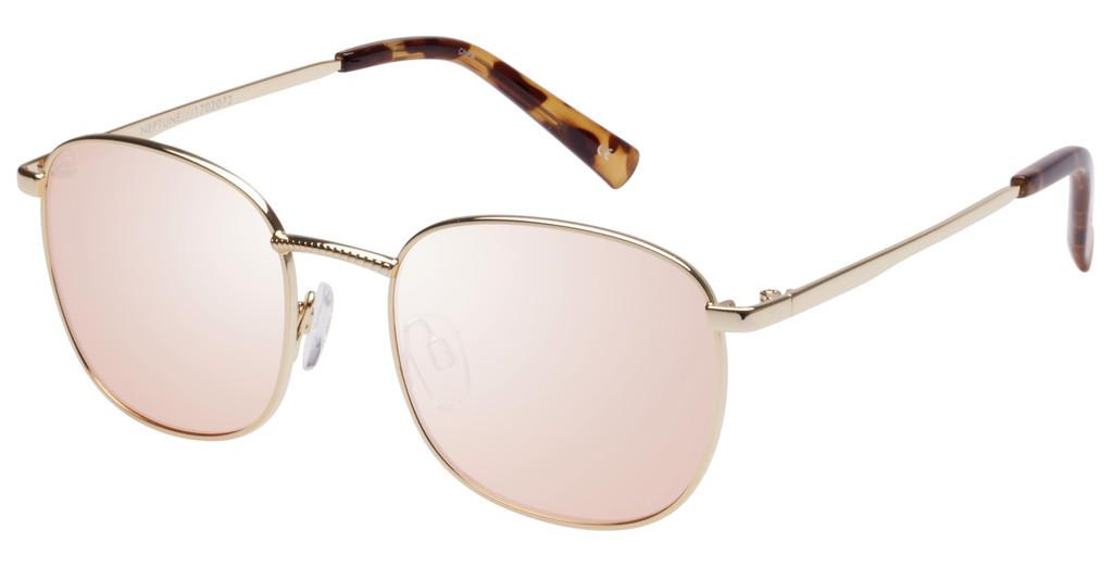 Le Specs   NEPTUNE LTD EDT LSP1702072 PEACH FLASH MIRRORBRIGHT GOLD