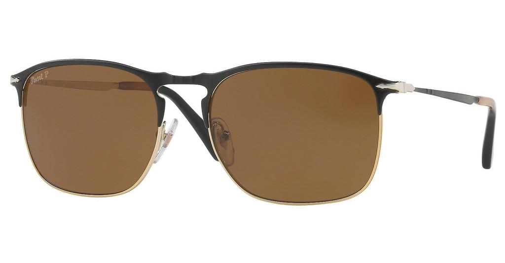 Persol   PO7359S 107057 POLAR BROWNMATTE BLACK/GOLD