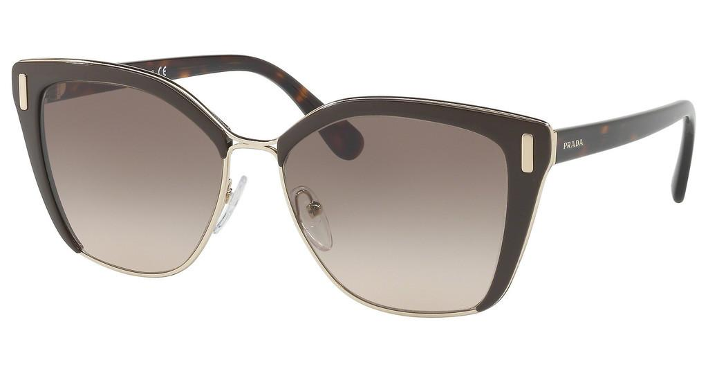 Prada   PR 56TS DHO3D0 BROWN GRADIENTBROWN/PALE GOLD