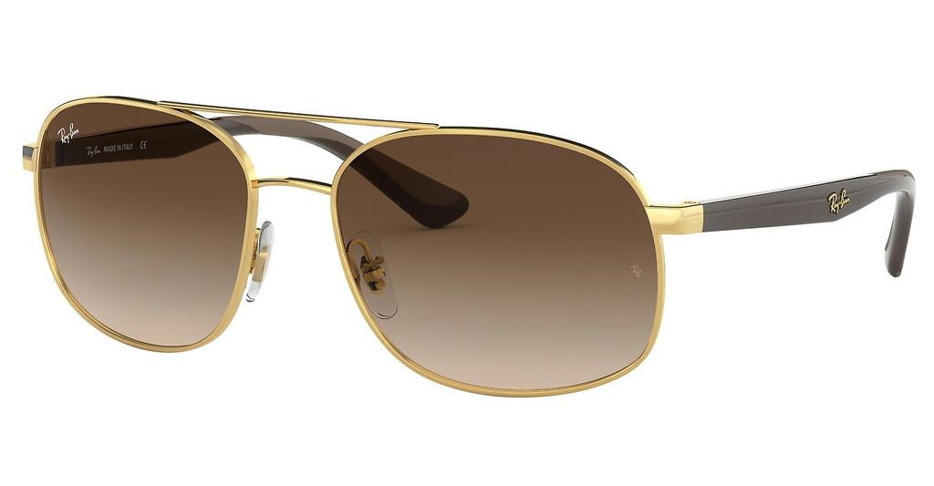 Ray-Ban   RB3593 001/13 BROWN GRADIENTGOLD