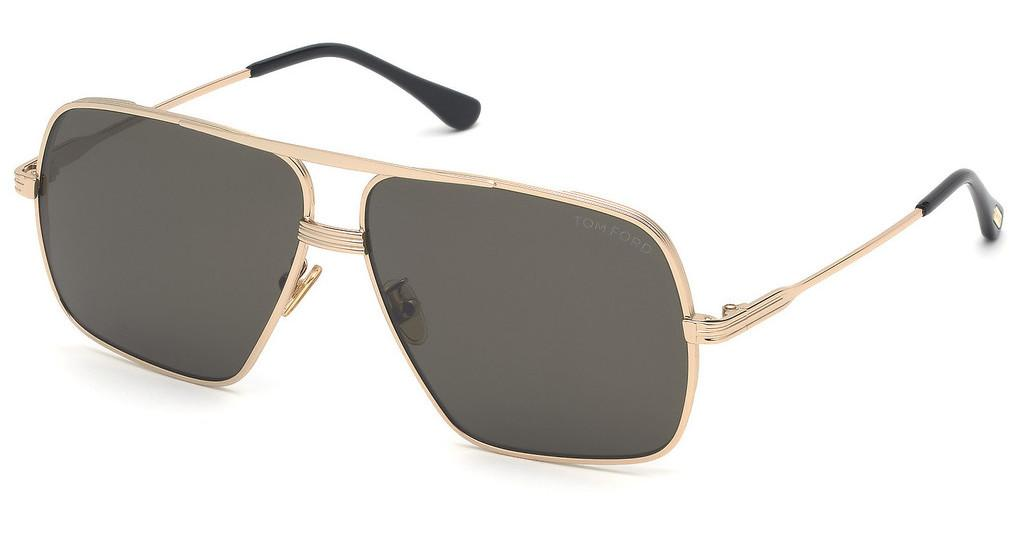 Tom Ford   FT0735-H 28A graurose-gold glanz