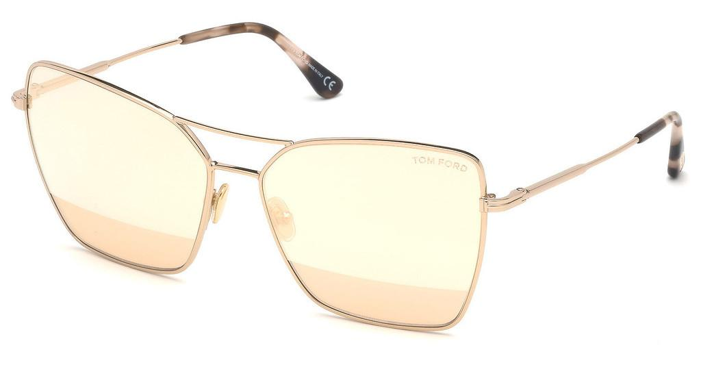 Tom Ford   FT0738 28Z verspiegeltrose-gold glanz
