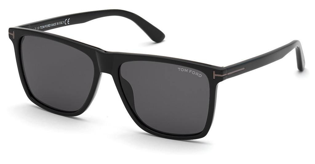 Tom Ford   FT0832-N 01A grauschwarz glanz