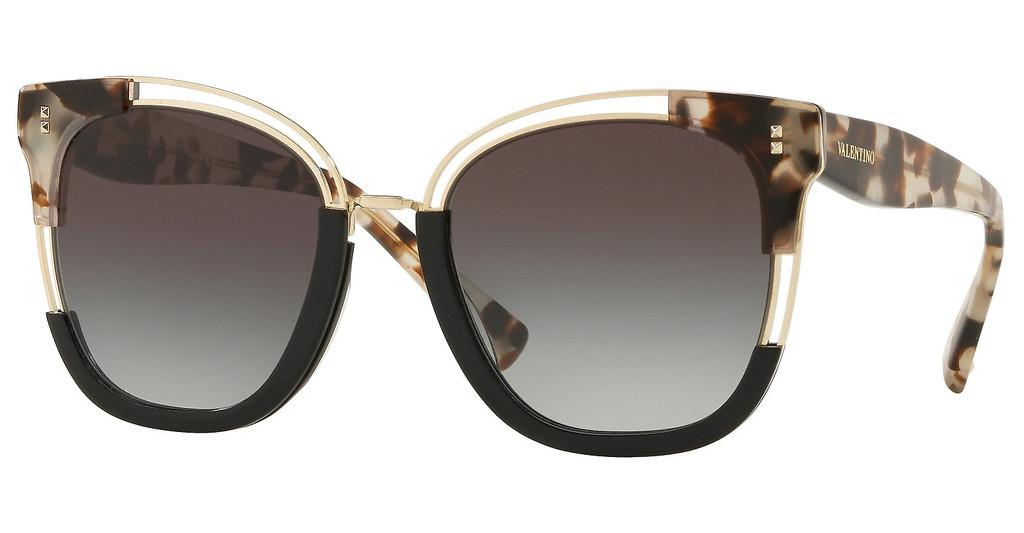 Valentino   VA4042 509711 GRADIENT BLACKHAVANA BROWN/BLACK/LIGHT GOLD