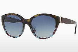 BURBERRY Burberry Damen Sonnenbrille » BE4242«, grün, 36364L - grün/blau