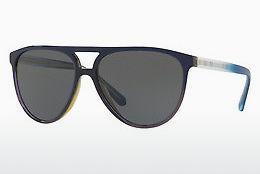 BURBERRY Burberry Damen Sonnenbrille » BE4193«, grün, 36664T - grün/gold
