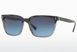 BURBERRY Burberry Damen Sonnenbrille » BE4242«, braun, 36358E - braun/grün