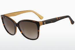 Calvin Klein Herren Sonnenbrille » CK3198S«, braun, 213 - braun
