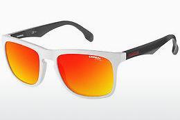 Carrera Eyewear Herren Sonnenbrille » CARRERA 4006/S«, weiß, 6HT/UZ - weiß/rot