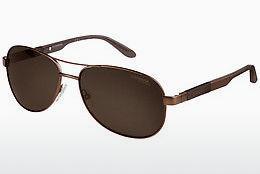 Carrera Eyewear Herren Sonnenbrille » CARRERA 96/S«, blau, TJU/9C - blau/grau