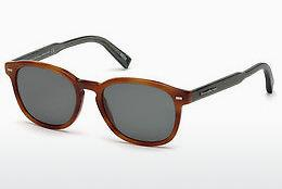 Occhiali da vista Ermenegildo Zegna EZ0005 53N - Avana, Yellow, Blond, Brown
