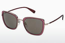 Sonnenbrille Escada SES909 96DX - Rot, Transparent