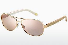 Sonnenbrille Fossil FOS 2004/S NFZ/0J - Gold, Rosa