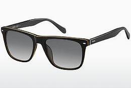 Fossil Damen Sonnenbrille » FOS 2055/S«, weiß, YNA/9O - weiß/grau