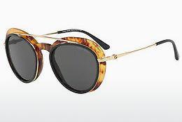 Giorgio Armani Damen Sonnenbrille » AR6061«, schwarz, 302187 - schwarz/grau
