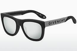 Sonnenbrille Givenchy GV 7016/N/S BSC/T4 - Schwarz, Silber