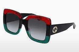 Sonnenbrille Gucci GG0083S 001 - Rot
