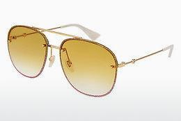Sonnenbrille Gucci GG0227S 005 - Gold