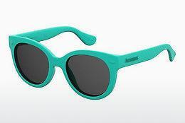 Havaianas Herren Sonnenbrille » BRASIL/L«, grün, 1RI/Y1 - grün/grau