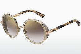 Lunettes de soleil Jimmy Choo ANDIE/S J7A/NH - Or, Rose, Brunes, Havanna
