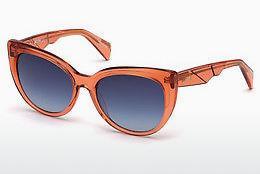 Just Cavalli Damen Sonnenbrille » JC822S«, braun, 52T - braun/burgundy