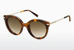 Lunettes de soleil Max Mara MM NEEDLE VI 2IK/HA - Or, Brunes, Havanna