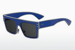 Lunettes de soleil Moschino MOS001/S PJP/IR - Bleues