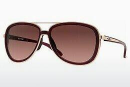 Oakley Damen Sonnenbrille »HOLD ON OO9298«, schwarz, 929802 - schwarz/rot