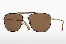 Lunettes de soleil Paul Smith ROARK (PM4079S 524573) - Brunes, Or