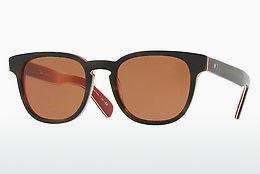 Lunettes de soleil Paul Smith HADRIAN SUN (PM8230SU 136573) - Vertes, Brunes, Havanna