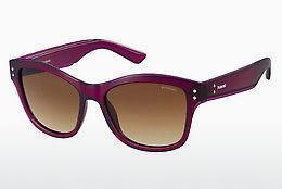 Calvin Klein Damen Sonnenbrille » CKJ490S«, lila, 506 - lila/grau