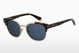 Polaroid Damen Sonnenbrille » PLD 4068/S«, grün, XGW/Z7 - grün/blau