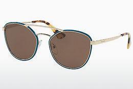 PRADA Prada Sonnenbrille » PR 63TS«, grün, SL58C1 - grün/braun
