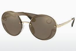 PRADA Prada Damen Sonnenbrille » PR 13US«, weiß, YEB5R0 - weiß/silber