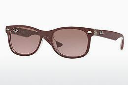 Sonnenbrille Ray-Ban Junior Junior New Wayfarer (RJ9052S 702414) - Rot, Transparent