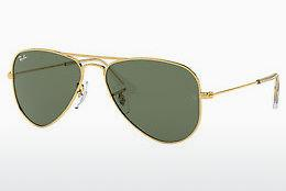 Sonnenbrille Ray-Ban Junior Junior Aviator (RJ9506S 223/71) - Gold