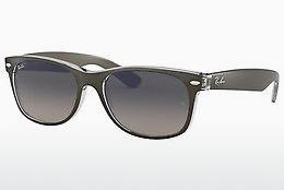 Sonnenbrille Ray-Ban NEW WAYFARER (RB2132 614371) - Grau, Transparent