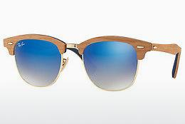 Sonnenbrille Ray-Ban CLUBMASTER (M) (RB3016M 11807Q) - Gold