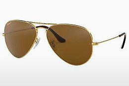 Lunettes de soleil Ray-Ban AVIATOR LARGE METAL (RB3025 001/57) - Or