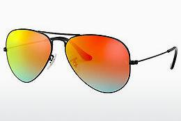 Sonnenbrille Ray-Ban AVIATOR LARGE METAL (RB3025 002/4W) - Schwarz