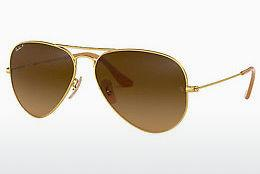 Sonnenbrille Ray-Ban AVIATOR LARGE METAL (RB3025 112/M2) - Gold