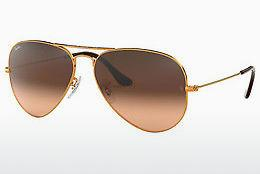 Sonnenbrille Ray-Ban AVIATOR LARGE METAL (RB3025 9001A5) - Braun