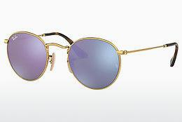 Lunettes de soleil Ray-Ban ROUND METAL (RB3447N 001/8O) - Or