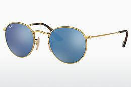 Lunettes de soleil Ray-Ban ROUND METAL (RB3447N 001/9O) - Or