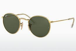 Lunettes de soleil Ray-Ban ROUND METAL (RB3447N 001) - Or