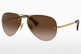 Sonnenbrille Ray-Ban RB3449 001/13 - Gold