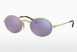 Sonnenbrille Ray-Ban Oval (RB3547N 001/8O) - Gold