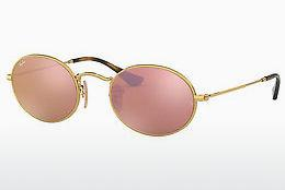 Sonnenbrille Ray-Ban Oval (RB3547N 001/Z2) - Gold