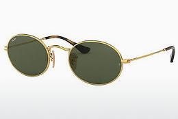 Lunettes de soleil Ray-Ban Oval (RB3547N 001) - Or